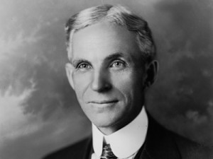 Henry Ford, founder of Ford.