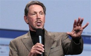 Larry Ellison, entrepreneur.