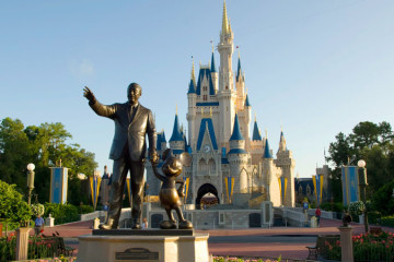 Walt Disney at Disney World