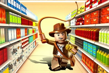 indiana jones shopping