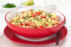 Couscous garden salad