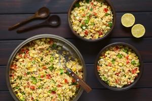 Roast veg Couscous