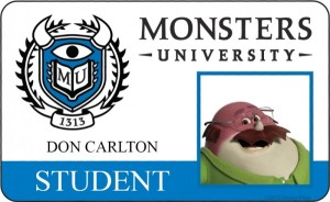 Monsters University it is never too late