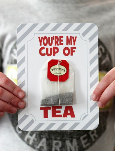 Your my cup of tea card