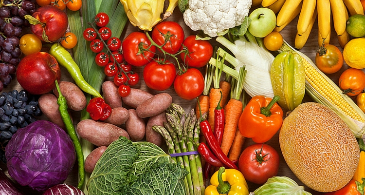 Season guide for fruit and vegetables