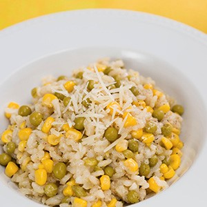 Pea and Corn Rice