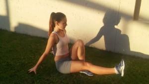 Sitting Leg Raises