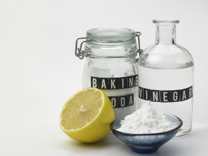 baking soda vinegar and lemon
