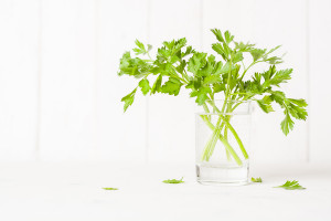 Parsley In A Glass.