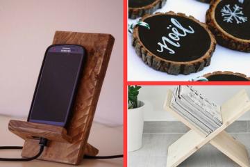 Wood DIY craft ideas